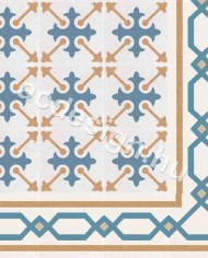 Cementlap minta szegélyelemekkel