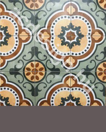 Kubai mintás különleges cementlap