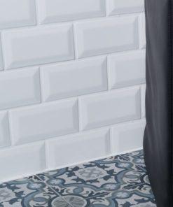 Kék mintás cementlap