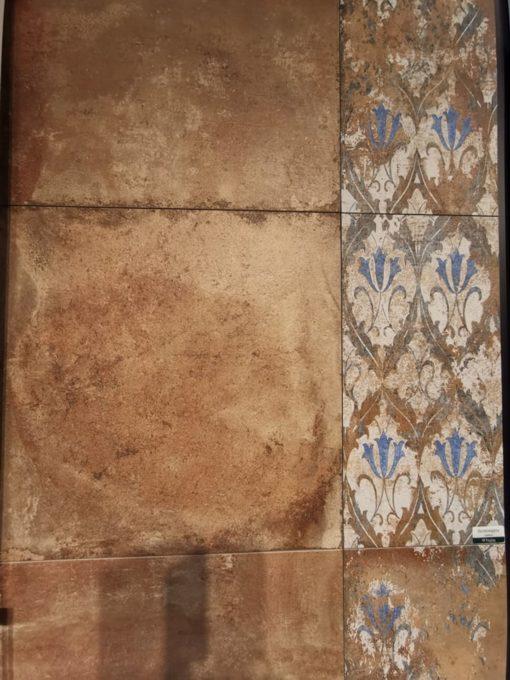 Rusztikus vörös terrakotta lap