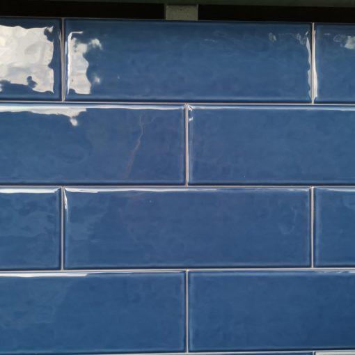 Rusztikus kék metró csempe raktárról