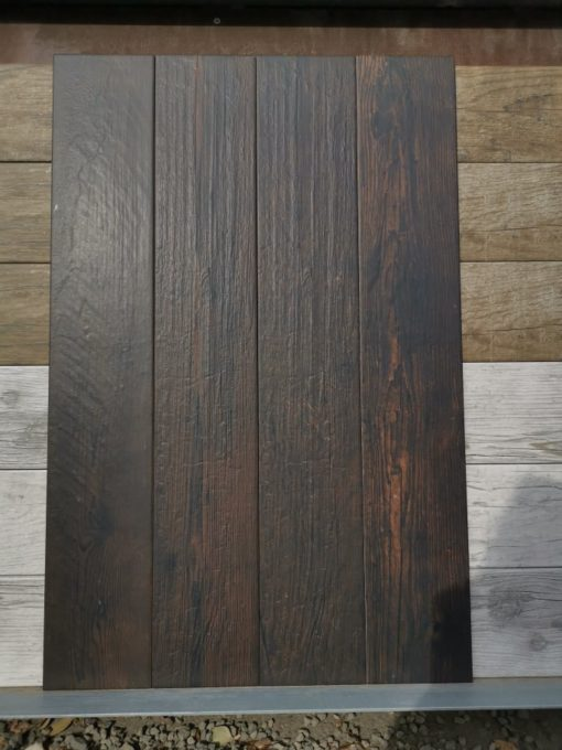 Égetett színű fahatású padlólap