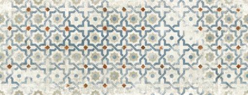 Marokkói mintás koptatott falicsempe